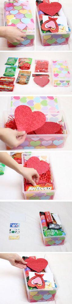 50 Cool DIY Valentine Gifts | Red candy, Boyfriend girlfriend and ...
