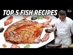 Super Tasty - Top 5 Fish Recipes From Master Chef John Chef Recipes, Fish Recipes, Seafood Recipes, Asian Recipes, Cooking Recipes, Chinese Recipes, Chinese Fish Recipe, Spicy Appetizers, Best Chinese Food