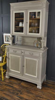Shabby Chic French Glazed Buffet Dresser artwork