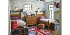 Union Jack Inspired Little Boy's Room