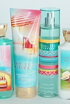Bath-and-Body-Works-Endless-Weekend-Gift-Set-of-Shower-Gel-Body-Cream-Body-Lotion-and-Mist-0