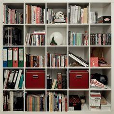 Livros, muitos livros.