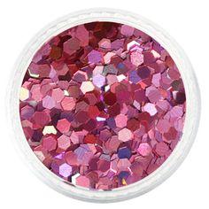 Pink Salmon Holographic Hexagon Glitter – Solvent Resistant Glitter from Glitties Nail Art Online Store Bulk Glitter, Cosmetic Grade Glitter, Holographic Glitter, Everything Pink, Art Online, Gel Polish, Pretty Nails, Salmon, Nailart
