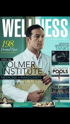 A Cure for Wellness Jason Isaacs