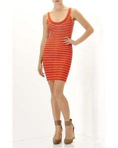 1778e5af3 Herv Leger RED INDRA Multi Chevron Texture Tipping Sz S Dress. Free  shipping and guaranteed