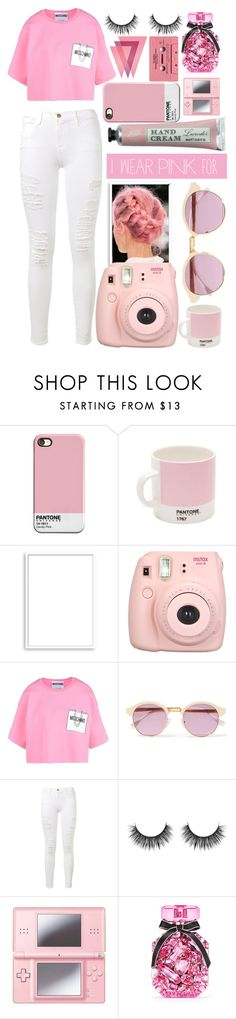 """""""To all the brave men and women"""" by ginga-ninja ❤ liked on Polyvore featuring Pantone, Bomedo, Fujifilm, Moschino, Sheriff&Cherry, Frame Denim, Nintendo, CASSETTE, Victoria's Secret and IWearPinkFor"""