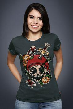 Camiseta Mario Tattoo