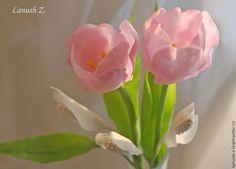 """""""Женское счастье"""" (холодный фарфор) - белый,розовый,женское счастье,подарок для женщины"""