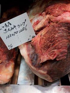 やまけんの出張食い倒れ日記:大阪の中央卸売市場に熟成肉あり! かの「又三郎」でも修行をしたferiaの渡邊さんが扱う肉は旨みもしっかり醸成で期待大!羊のエージングは必食。お肉買いに行って上げて下さ~い!