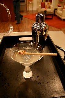 Vanilla Honey Martini~