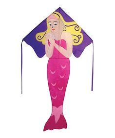 Pink & Purple Mermaid Kite