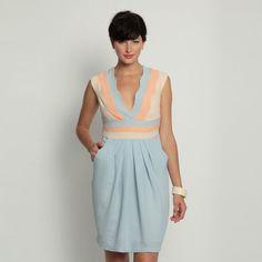 Fantastic Eva Franco Aveta Dress-small sized 6 - $182