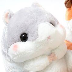 Kawaii plush stuffed toys - cuddly and furry friends  Coroham Coron no Otomodachi Hamster Plush... - 生け花