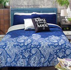 Best+Seller+Tonala+Reversible+Comforter+Light+Set+King