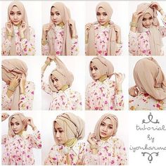 Tutorial Hijab Modis Terbaru Untuk Remaja