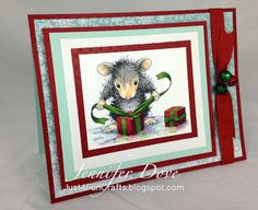 Just4FunCrafts and DoveArt Studios - I so love House Mouse