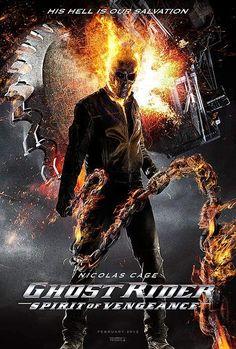 √ Ghost rider: Spirit of vengeance - Poster Marvel Dc, Punisher Marvel, Marvel Comic Universe, Comics Universe, Marvel Heroes, Marvel Cinematic Universe, Ghost Rider 2, Ghost Rider Marvel, Nicolas Cage