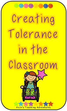 Want to help all your students get along this school year? This activity will help create tolerance among your class!
