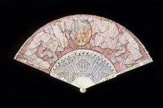 Fan, 1740's the Netherlands, MFA Boston
