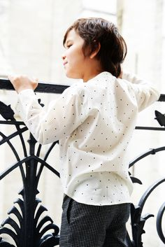 Ketiketa : Summer 2016 - Aurèle Shirt Sea Of Poppies, Summer 2016, Polka Dot Top, Shirts, Tops, Women, Fashion, Spring Summer 2016, Polka Dot Shirt