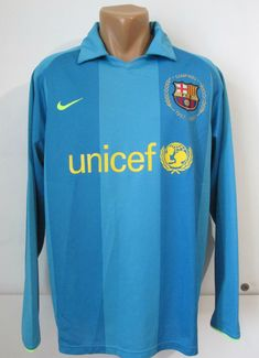 Barcelona 2007 2008 away player issue football shirt by Nike FCB Barca  FCBarca jersey camiseta 20f60789136ec