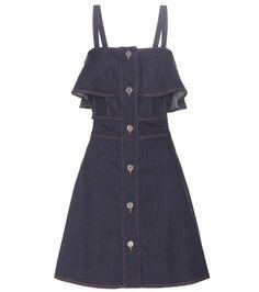 SEE BY CHLOÉ Denim Dress. #seebychloé #cloth #dresses