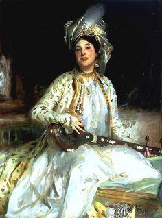 John Singer Sargent (1856-1925) Almina, Daughter of Asher Wertheimer 1908