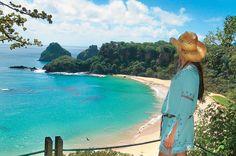 Mirante da praia do Sancho, em Fernando de Noronha, Pernambuco