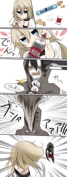puras imágenes de satsuriku no tenshi (殺戮の天使) y sus personajes # De Todo # amreading # books # wattpad Anime Meme, Comic Anime, Anime Comics, Anime Angel, Art Manga, Manga Anime, Anime Art, Angel Of Death, Rpg Horror Games