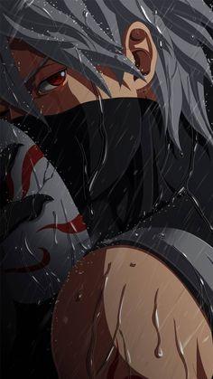 Kakashi Sharingan, Naruto Uzumaki Shippuden, Naruto Kakashi, Anime Naruto, Fan Art Naruto, Naruto Shippuden Characters, Anime Akatsuki, Sasuke Sakura, Naruto And Sasuke Wallpaper