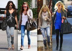 Ashley Tisdale - Celebrity Street Style - StyleBistro