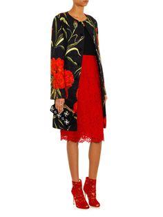 Peep-toe lace boots | Dolce & Gabbana | MATCHESFASHION.COM US