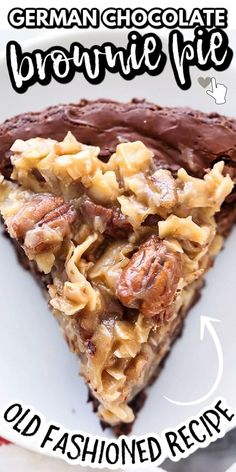 Brownie Recipes, Pie Recipes, Sweet Recipes, Best Dessert Recipes, Muffin Recipes, Kitchen Recipes, Recipies, 13 Desserts, Delicious Desserts