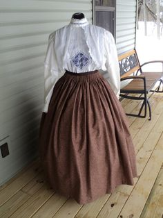 Custom heirloom lace victorian Gibson girl by HeritageDressmakers