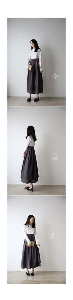 편안하고 친근한 생활한복, 신한복 디자인 브랜드 Korea Fashion, Fashion 2017, Asian Fashion, Fashion Outfits, Korean Traditional, Traditional Clothes, Traditional Fashion, Japanese Outfits, Korean Outfits