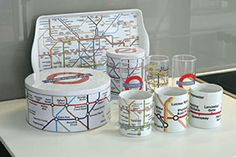 B G London's line of London underground giftware in collaboration with TFL www.boltongrouplondon.com