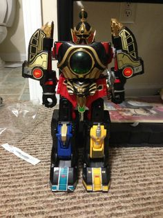 Mighty Morphin Power Rangers Thunder Megazord