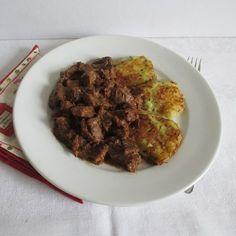 A legfinomabb pörköltek egyike. Beef, Meat, Steak