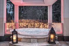 Der Outdoor Sole Whirlpool im Wellnesshotel Bergland, Hintertux. #outdoor_sole_whirlpool #wellnesshotel #massage #beauty #entspannung #auszeit #behandlung #relaxen #wellness #spa #zillertal #wellnesshotel_bergland jacuzzi