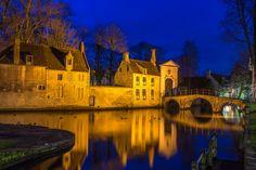 Brugge or Bruges, The Beguinage, a world heritage by Maarten Hoek on 500px