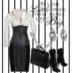 """today i wear black"" by zoltan-l on Polyvore"