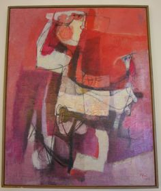 Afro  Basaldella   Italian  1912-1976              Italian abstractionist,  known simply as Afro. Was born in the town of Udine not far ...