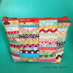 Welcome to finish it up Friday! Ive been carrying my original scrap happy purse for over a year...