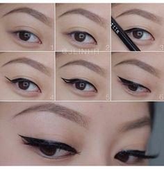 Delineado de ojos #maquillaje