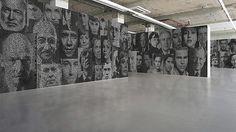 Text-portraits by Ralph Ueltzhoeffer