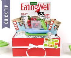 For the person in your life who strives for a healthy lifestyle, surprise them with this bundled package, stuffed with health-conscious items that encourages a healthy and happy holiday.