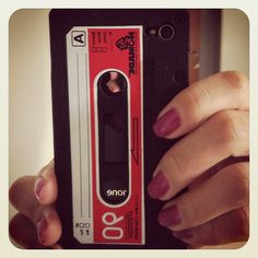 Cassete Tape, iPhone Case