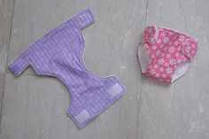sew bossi: Baby doll diapers and changing pad set tutorial