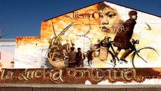 Málaga Bulevart Exhibición de graffiti | Elalfil |Creatividad Urbana |