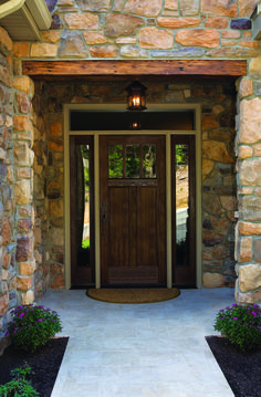 Beautiful Craftsman-Style Front Door   HOME   ENTRY   Pinterest ...